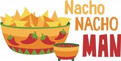 Nacho Nacho Man print art
