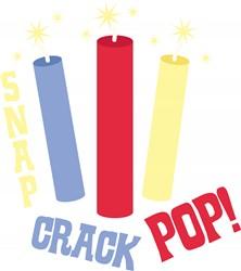 Snap Crack Pop print art