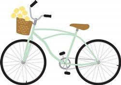 Flower Basket Bike print art