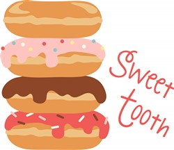 Sweet Tooth Donuts print art