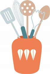 Cooking Utensils print art