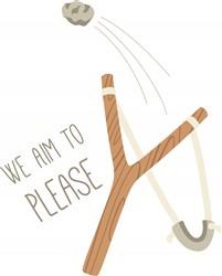 Aim To Please print art