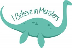 Believe In Monsters print art