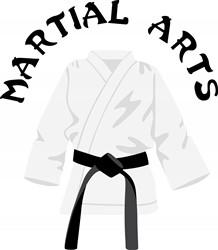 Martial Arts print art
