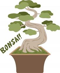Bonsai Plant print art