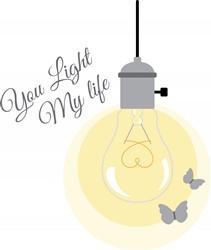Light My Life print art