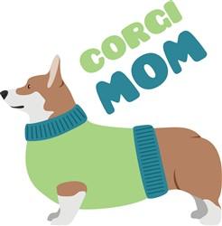 Corgi Mom print art
