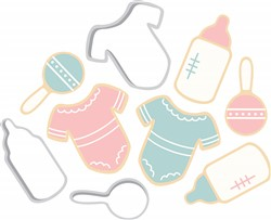 Baby Clothes print art