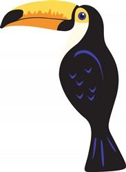 Toucan Bird print art