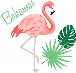 Bahamas print art