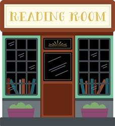 Reading Room print art