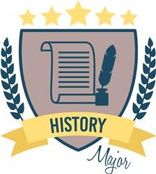 History Major print art