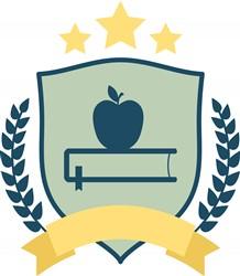 English Logo print art