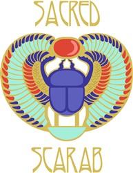 Sacred Scarab print art