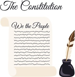 The Constitution print art