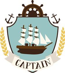 Captain Crest print art