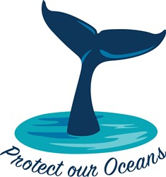 Protect Our Oceans print art