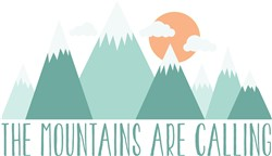 Mountains Calling print art