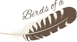 Birds Feather print art