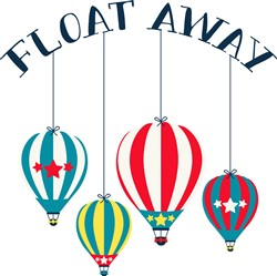 Float Away print art