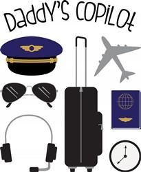 Daddys Copilot print art
