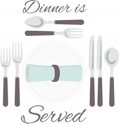 Dinner Is Served print art