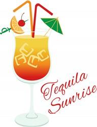 Tequila Sunrise print art