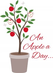 Apple A Day print art