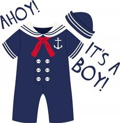 Ahoy Boy print art