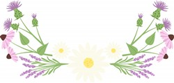 Wildflowers print art