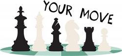 Your Move print art