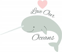 Love Our Oceans print art