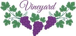 Vineyard print art
