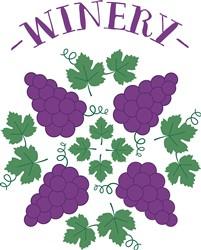 Grapes Winery print art