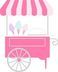 Cotton Candy Cart print art