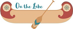 On The Lake print art