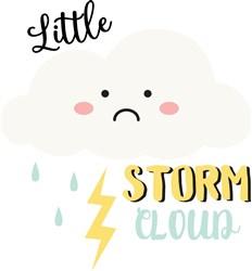 Little Storm Cloud print art