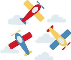 Toy Airplanes print art