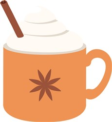 Pumpkin Spice Latte print art