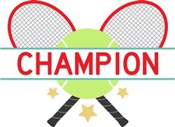 Tennis Champion print art