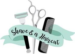 Shave & A Haircut print art