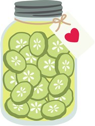 Homemade Pickles print art