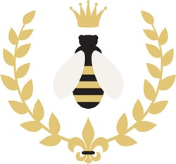 Royal Bee print art