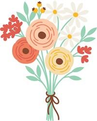 Flower Bouquet print art