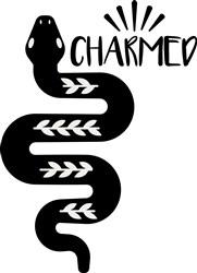 Charmed Snake print art