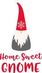 Home Sweet Gnome print art