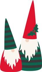 Christmas Gnomes print art