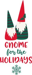 Gnome For Holidays print art