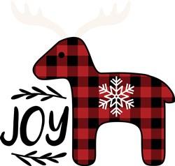 Joy Reindeer print art