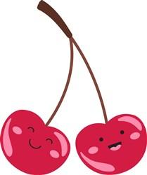 Happy Cherries print art